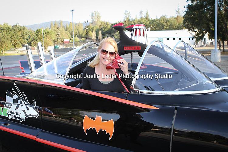 Batman Batmobile E.L.K. Charity Challenge Car Race at Yosemite High School 5.20.15 Oakhurst California Madera County Photos by Joelle Leder Photography Studio