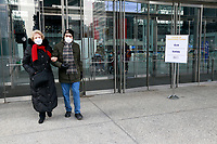 NEW YORK, NY -JANUARY 13: New York State opens COVID-19 mass vaccination site for those over 65 years-old and essential workers at the Jacob Javits Center in New York City on January 13, 2021. Credit: mpi43/MediaPunch