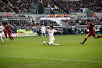 Saturday 2nd March 2013<br /> Pictured: Ki Sung-Yueng.<br /> Re: Barclays Premier Leaguel, Swansea  v Newcastle at the Liberty Stadium in Swansea.