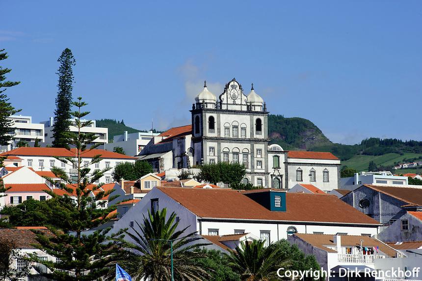 Igreja de Nossa Senhora do Carmo in Horta auf der Insel Faial, Azoren, Portugal