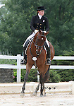 10 July 2009: Melissa Miller riding Detail Specialist during the dressage phase of the CIC 2* Maui Jim Horse Trials at Lamplight Equestrian Center in Wayne, Illinois.