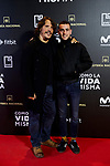 Sergio Peris-Mencheta and Alex Monner attends to 'Como la Vida Misma' film premiere during the 'Madrid Premiere Week' at Callao City Lights cinema in Madrid, Spain. November 12, 2018. (ALTERPHOTOS/A. Perez Meca)