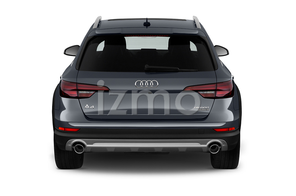 Straight rear view of a 2018 Audi allroad Premium 5 Door Wagon stock images