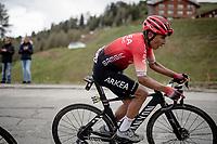 Nairo Quintana (COL/Arkea Samsic) up the finale towards La Plagne (HC/2072m/17.1km@7.5%) <br /> <br /> 73rd Critérium du Dauphiné 2021 (2.UWT)<br /> Stage 7 from Saint-Martin-le-Vinoux to La Plagne (171km)<br /> <br /> ©kramon