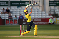 James Fuller hits 6 runs for Hampshire during Essex Eagles vs Hampshire Hawks, Vitality Blast T20 Cricket at The Cloudfm County Ground on 11th June 2021