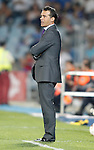 Getafe's coach Luis Garcia during La Liga Match. September 26, 2011. (ALTERPHOTOS/Alvaro Hernandez)