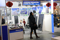 - Milan, Trade Fair of Robotics, High Tech and Green Energy; photovoltaic panels manufactured by Chinese companies<br /> <br /> - Milano, Fiera della Robotica, High Tech ed Energie Verdi; pannelli fotovoltaici prodotti da aziende cinesi