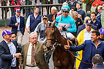 Elmont, NY - OCTOBER 08, 2006: Lady Eli, #5  with Irad Ortiz Jr.  aboard. wins the Flower Bowl Stakes on the turf at Belmont Park. (Photo by Sue Kawczynski/Eclipse Sportswire/Getty Images)