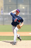 Trey Haley, Cleveland Indians 2010 minor league spring training..Photo by:  Bill Mitchell/Four Seam Images.