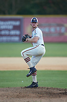 High Point-Thomasville HiToms starting pitcher Shane Smith (19) (Wake Forest) in action against the Martinsville Mustangs at Finch Field on July 26, 2020 in Thomasville, NC.  The HiToms defeated the Mustangs 8-5. (Brian Westerholt/Four Seam Images)