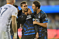San Jose, CA - Monday July 10, 2017: Chris Wondolowski during a U.S. Open Cup quarterfinal match between the San Jose Earthquakes and the Los Angeles Galaxy at Avaya Stadium.