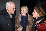 Dick Moore & Jane Powell & Marge Champion.attends the reception and unveiling for the Al Hirschfeld permanent installation at The New York Public Library for Performing Arts in New York City..