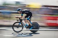 Chris Froome (GBR/SKY)<br /> <br /> stage 1 prologue: Utrecht (13.8km)<br /> Tour de France 2015