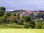 ITA, Italien, Marken, Amandola: Dorf mit historischem Ortskern | ITA, Italy, Marche, Amandola: village with historic centre