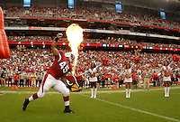 Aug 18, 2007; Glendale, AZ, USA; Arizona Cardinals fullback Terrelle Smith (45) against the Houston Texans at University of Phoenix Stadium. Mandatory Credit: Mark J. Rebilas-US PRESSWIRE Copyright © 2007 Mark J. Rebilas