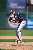 Peoria Chiefs relief pitcher Tyler Bray (30) during the first game of a doubleheader against the South Bend Cubs on July 25, 2016 at Four Winds Field in South Bend, Indiana.  South Bend defeated Peoria 9-8.  (Mike Janes/Four Seam Images)