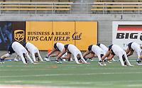 Berkeley, Ca - March 3, 2017: The Cal Bears vs the Michigan Wolverines at California Memorial Stadium. Final score Cal Bears 4, Michigan Wolverines 14.