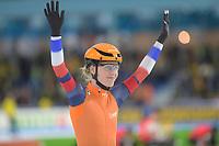 SPEEDSKATING: HEERENVEEN: 10-01- 2020, IJsstadion Thialf, European Championship distances, Team Sprint Ladies, Letitia de Jong (NED), ©foto Martin de Jong
