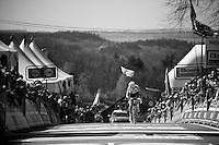 Anna van der Breggen (NLD/Rabobank-Liv) wins up the infamous Mur de Huy for a 2nd year in a row<br /> <br /> Flèche Wallonne 2016