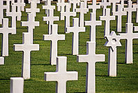 Carthage, Tunisia. American World War II Cemetery.  Several Markers are to Unknown Soldiers.