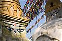 2006- Népal- Kathmandu- Temple de Swayambunath.