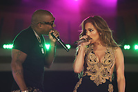 NEW YORK, NY - SEPTEMBER 26, 2021 Jennifer Lopez and Ja Rule perform on stage during Global Citizen Live, in Central Park on September 26, 2021 in New York City. Photo Credit: Walik Goshorn/Mediapunch