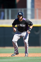 Colorado Rockies Brian Mundell (33) during an Instructional League game against the Los Angeles Angels of Anaheim on October 6, 2016 at the Tempe Diablo Stadium Complex in Tempe, Arizona.  (Mike Janes/Four Seam Images)