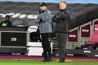 Aston Villa Manager Dean Smith during West Ham United vs Aston Villa, Premier League Football at The London Stadium on 30th November 2020