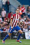 Diego Roberto Godin Leal of Atletico de Madrid in action during their La Liga match between Atletico de Madrid and Granada CF at the Vicente Calderon Stadium on 15 October 2016 in Madrid, Spain. Photo by Diego Gonzalez Souto / Power Sport Images