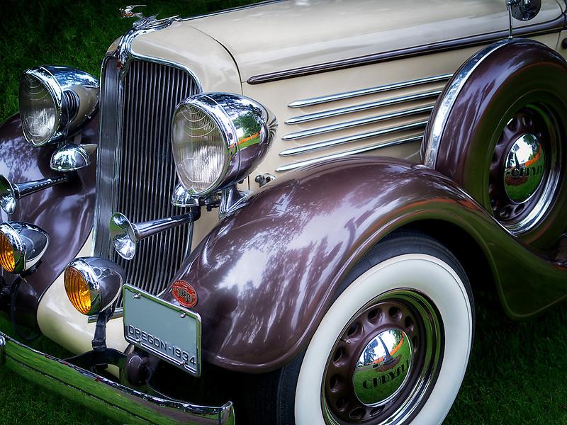 Restored 1934 Chrysler sedan. Oregon.