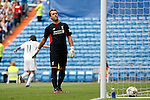 Liverpool´s Dudek during 2015 Corazon Classic Match between Real Madrid Leyendas and Liverpool Legends at Santiago Bernabeu stadium in Madrid, Spain. June 14, 2015. (ALTERPHOTOS/Victor Blanco)