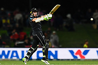 23rd March 2021; Christchurch, New Zealand;  Tom Latham of the Black Caps during the 2nd ODI cricket match, Black Caps versus Bangladesh, Hagley Oval, Christchurch, New Zealand.