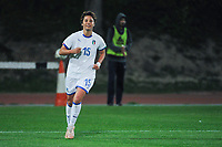 20190301 - LARNACA , CYPRUS : Italian forward Valentina Giacinti celebrating her goal pictured during a women's soccer game between Hungary and Italy , on Friday 1 March 2019 at the GSZ Stadium in Larnaca , Cyprus . This is the second game in group B for both teams during the Cyprus Womens Cup 2019 , a prestigious women soccer tournament as a preparation on the FIFA Women's World Cup 2019 in France . PHOTO SPORTPIX.BE | STIJN AUDOOREN