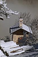 Europe/France/Rhône-Alpes/73/Savoie/Courchevel: Chapelle du curé d'Ars