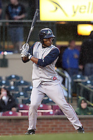 April 20, 2010: Orlando Sandoval (22) of the Asheville Tourists at Applebee's Park in Lexington, KY. Photo by: Chris Proctor/Four Seam Images