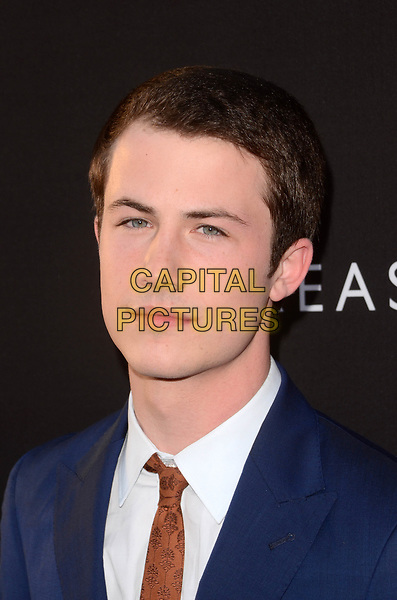 LOS ANGELES, CA - MARCH 30: Dylan Minnette at  the premiere of Netflix's '13 Reasons Why' at Paramount Pictures on March 30, 2017 in Los Angeles, California. <br /> CAP/MPI/DE<br /> ©DE/MPI/Capital Pictures