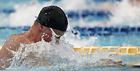 Swimming 55° Settecolli trophy Foro Italico, Rome on June 30, June 2018.<br /> Swimmer Adam Peaty, of Great Britain, competes in the men's 50 meters Breaststroke at the Settecolli swimming trophy in Rome, on June 30, 2018.<br /> UPDATE IMAGES PRESS/Isabella Bonotto