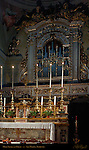 High Altar and Organ Crucifix by Fra Angelico 1425-28 San Marco Florence