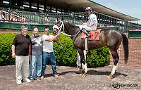 Risky Red winning at Delaware Park on 6/5/13