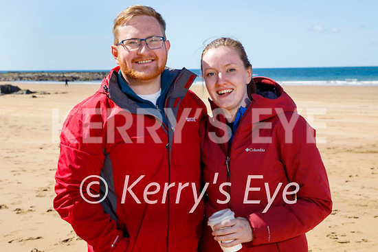 Enjoying a stroll in Ballybunion on Sunday, l to r: David Collins and Deirdre O'Connor.