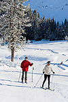 Oesterreich, Salzburger Land, Pongau, bei Obertauern: Skilanglaufgebiet rund um die Gnadenalm | Austria, Salzburger Land, Pongau, near Obertauern: cross-country ski area at Gnadenalm