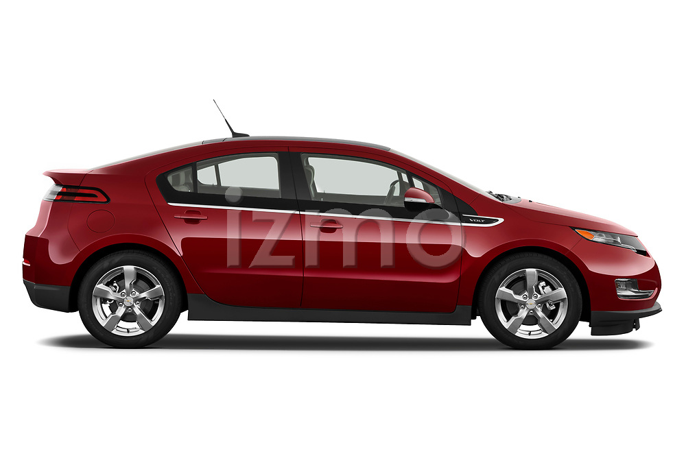 Passenger side profile view of a 2011 Chevrolet Volt