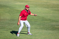 STANFORD, CA - JUNE 6: David Esquer during a game between UC Irvine and Stanford Baseball at Sunken Diamond on June 6, 2021 in Stanford, California.