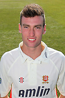 Reece Topley of Essex CCC in LV County Championship Kit - Essex County Cricket Club Press Day at the Essex County Ground, Chelmsford, Essex - 02/04/13 - MANDATORY CREDIT: Gavin Ellis/TGSPHOTO - Self billing applies where appropriate - 0845 094 6026 - contact@tgsphoto.co.uk - NO UNPAID USE.
