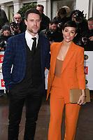 Wayne and Frankie Bridge<br /> arriving for the TRIC Awards 2019 at the Grosvenor House Hotel, London<br /> <br /> ©Ash Knotek  D3487  08/03/2019