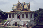 The Royal Palace (Khmer: ព្រះបរមរាជាវាំងនៃព្រះរាជាណាចក្រកម្ពុជា, Preah Barum Reachea Veang Nei Preah Reacheanachak Kampuchea), in Phnom Penh, Cambodia, is a complex of buildings which serves as the royal residence of the king of Cambodia. Its full name in the Khmer language is Preah Barum Reachea Veang Chaktomuk Serei Mongkol (Khmer: ព្រះបរមរាជវាំងចតុមុខសិរីមង្គល). The Kings of Cambodia have occupied it since it was built in 1860s, with a period of absence when the country came into turmoil during and after the reign of the Khmer Rouge.