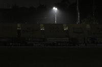 RIONEGRO - COLOMBIA, 09-02-2021: Estadio en penumbra durante partido por la fecha 5 entre Águilas Doradas Rionegro y Deportivo Pasto como parte de la Liga BetPlay DIMAYOR I 2020 jugado en el estadio Alberto Grisales de la ciudad de Rionegro. / Stadium in twilight  during Match for the date 5 between Aguilas Doradas Rionegro and Deportivo Pasto as part BetPlay DIMAYOR League I 2020 played at Alberto Grisales stadium in Rionegro city. Photo: VizzorImage / Juan Augusto Cardona / Cont