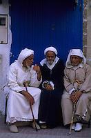Afrique/Maghreb/Maroc/Essaouira : Scène de vie dans la Mellah