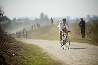 111th Paris-Roubaix 2013..Davide Appollonio (ITA)