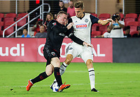 Washington, DC. - Wednesday, August 29, 2018: The Philadelphia Union defeated D.C. United 2-0 in a MLS match at Audi Field.